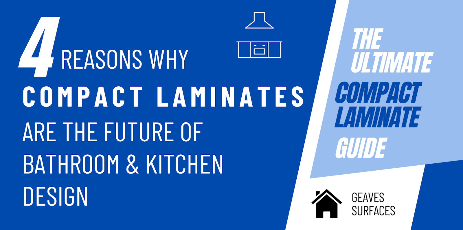 4 Reasons Why Compact Laminates are the Future of Bathroom & Kitchen Design